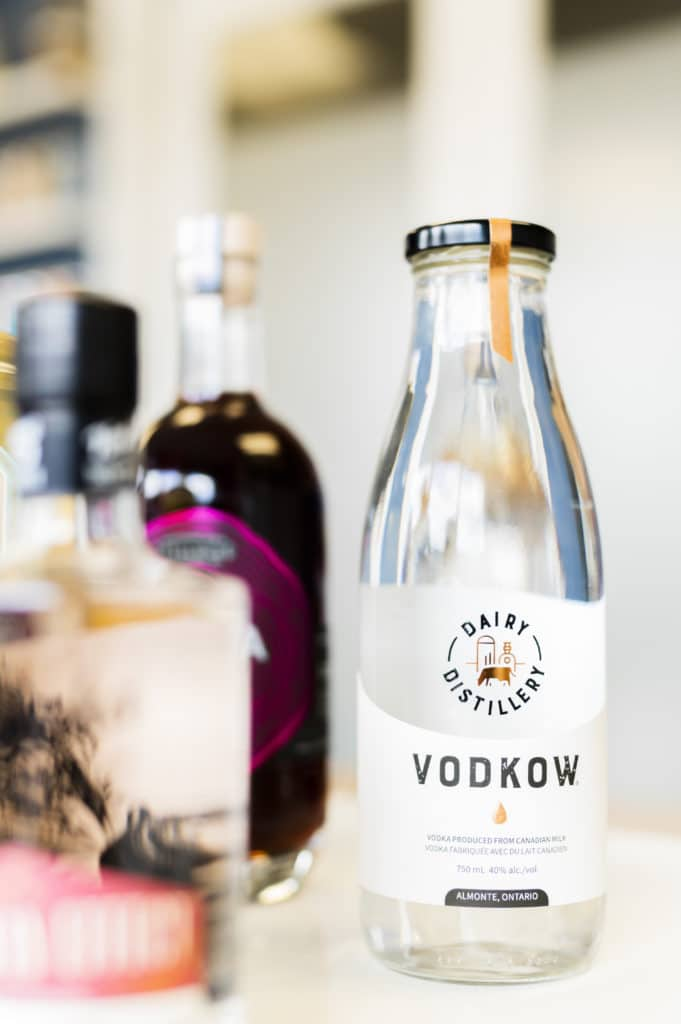 Diary Distillery launches Vodkow